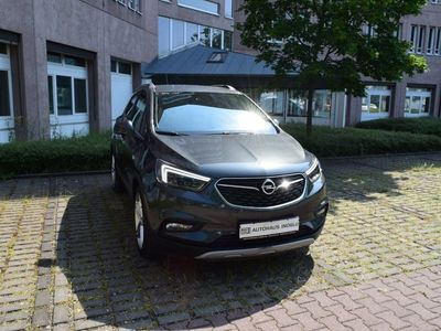 gebraucht Opel Mokka X 1.4 T AT LED/Leder/Navi900-Cam/19Zoll/Lenk-SHZ/Keyless/OnStar/Verks./Temp/GSD/BC/BT/NSW