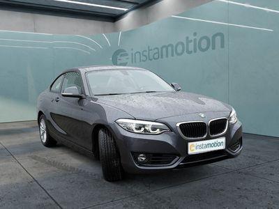 gebraucht BMW 218 218 i Coupe Advantage LEDER+NAVI+LED+SHZ+KLIMAAUT