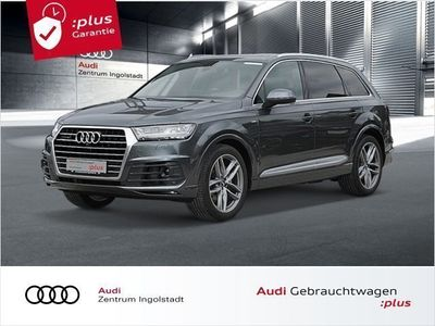 gebraucht Audi Q7 50 TDI qu 3x S line AHK PANO MATRIX ACC STHZG