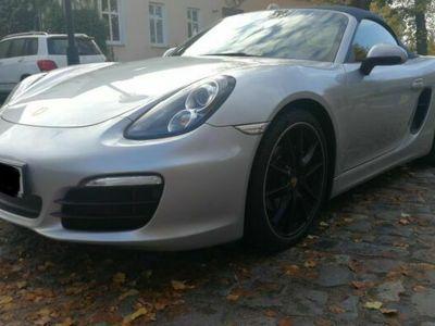 gebraucht Porsche Boxster PDK Silber Blau SAGA Inspektion Tüv Navi