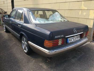 używany Mercedes 420 W126 zum restaurieren