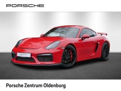 gebraucht Porsche Cayman GT4 Chrono-Paket, Navi,Sportschalesitz