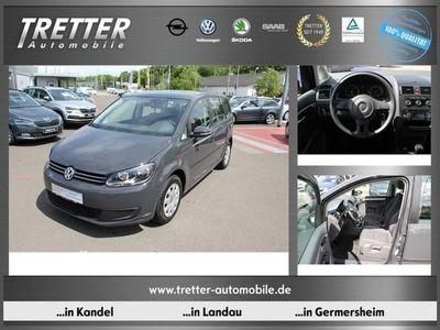 gebraucht VW Touran 1.6 TDI Trendline 7-Sitzer Klima