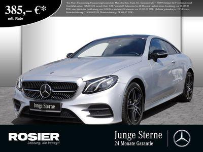 gebraucht Mercedes E220 4M Coupé AMG Line Abstandstemp. LED Pano