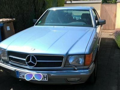 gebraucht Mercedes 500 MercedesSEC, 04.1986; 3.Hd.; 166.900 ...