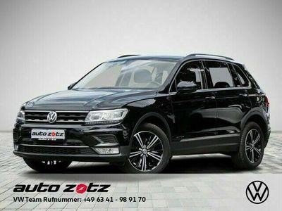 gebraucht VW Tiguan Highline 2.0 TDI DSG 4Motion Navi AHK LED