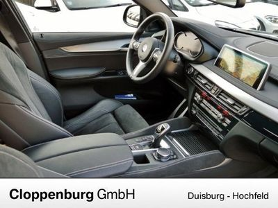 gebraucht BMW X6 xDrive 30d M Sport Head Up LED Harman Kardon Navi