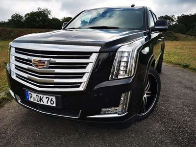 gebraucht Cadillac Escalade 6.2 V8 ESV Platinum 22 zoll
