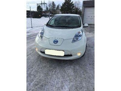 gebraucht Nissan Leaf 24KWh Navi Connect Weiß