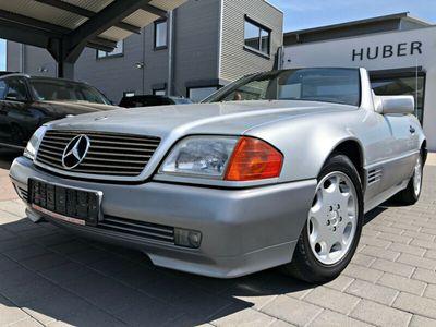 gebraucht Mercedes SL320 Klimaaut. Leder Navi el.Sitze Hardtop TOP