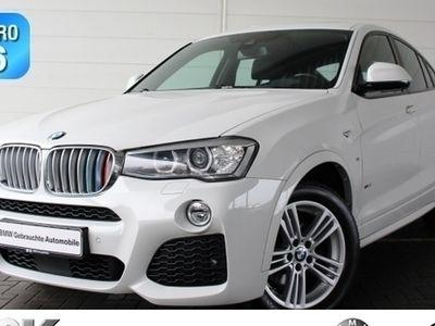 gebraucht BMW X4 xDrive 35d Sportpaket Bluetooth HUD Navi PDC