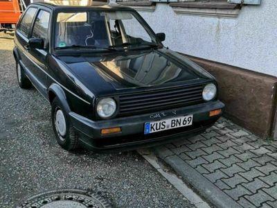 gebraucht VW Golf II mit fast neu TÜV zum aufbauen und h...
