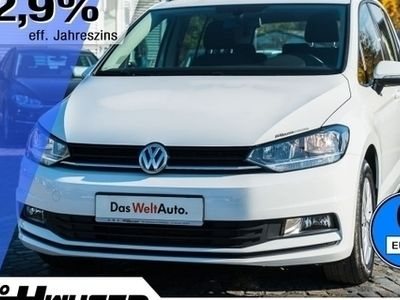 gebraucht VW Touran 1.6 TDI BMT 7-SITZER CLIMATRONIC ALU (Klima el. Fe
