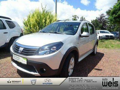 gebraucht Dacia Sandero 1.6 MPI Stepway, Klima