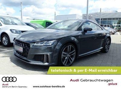 gebraucht Audi TT Coupé 40 TFSI S line S tronic *NAVI+*LED*DAB*
