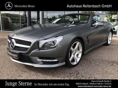 gebraucht Mercedes SL500 AMG+COMAND+PANO.-DACH+DISTRO+KAMERA+ILS AMG Line