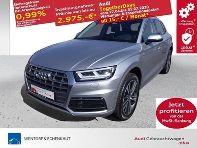 gebraucht Audi Q5 2.0 TDI quattro sport AHK GRA APS Navigation LED