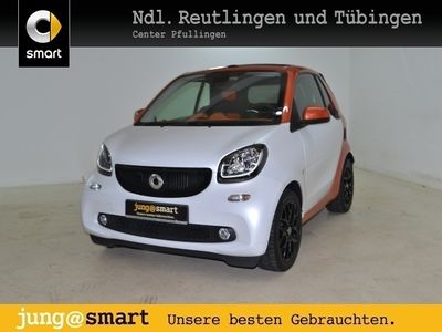 gebraucht Smart ForTwo Cabrio 66kW passion DCT cool&Media Sport