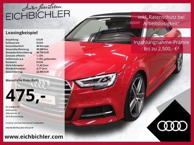 gebraucht Audi S3 Cabriolet TFSI quattro S tronic ACC B&O MMIPlus SideAssist LED Navi Teilleder