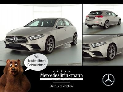 gebraucht Mercedes A220 Kompaktlimousine AMG LINE/LED/SHZ/AUTOM. Klima