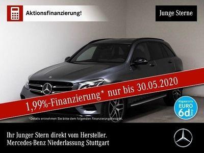 gebraucht Mercedes GLC250 d 4M AMG Fahrass LED Night Navi Totwinkel
