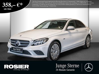 gebraucht Mercedes C300 de Avantgarde SHD Kamera LED+ Widescr S