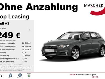 gebraucht Audi A3 Sportback Sport 35 TFSI AHK GRA Navi Sitzh. P MMI Sportsitze PDC