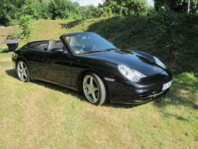 gebraucht Porsche 911 Cabrio schwarz-schwarz