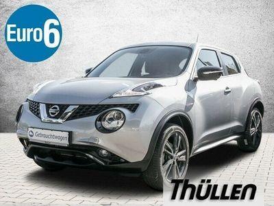 gebraucht Nissan Juke 1.2 TEKNA Navi Klimaauto Leder