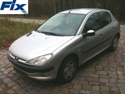 gebraucht Peugeot 206 HDi 90 Style Klima/Tempomat/CD/AHK