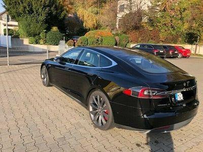 gebraucht Tesla Model S P85D SC free, Luftfederung, Panorama als Limousine in Griesheim