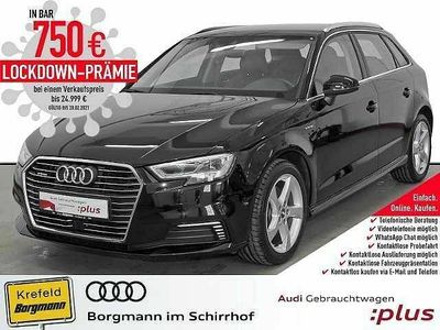 gebraucht Audi A3 e-tron Neu 1.4 TFSI S tronic MMI Navi plus LED virtual cockpit KLIMA ALU