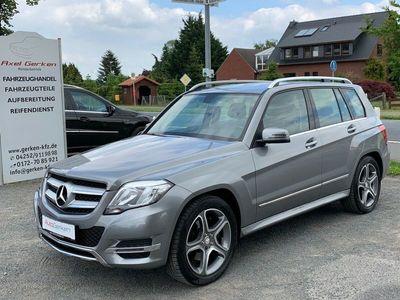 gebraucht Mercedes GLK200 CDI Sport-Paket Leder 19 Zoll Automatik