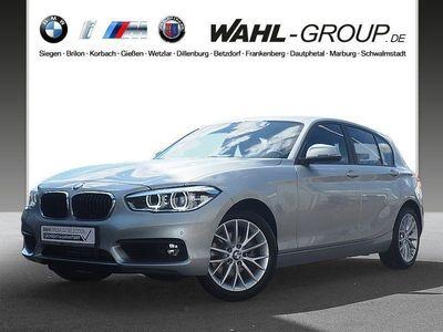 gebraucht BMW 120 d 5-Türer Advantage LED Tempomat AHK USB Shz