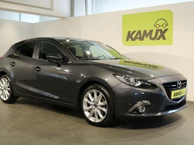 gebraucht Mazda 3 2.0 Aut. Exclusive Line +Navi +HuD +BOSE +DAB +EURO 6