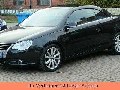 gebraucht VW Eos 2.0 Turbo*DSG*Leder Rot*Bi Xenon*Navi groß* als Cabrio/Roadster in Herzberg am Harz