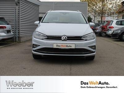 gebraucht VW Golf Sportsvan 1.5 TSI DSG Highline AHK Navi LED