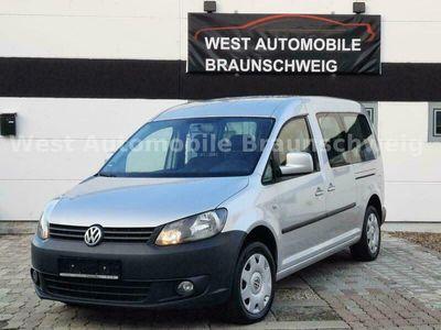 gebraucht VW Caddy Kombi Maxi Team*7-Sitzer*Navi*AHK* als Van/Kleinbus in Braunschweig
