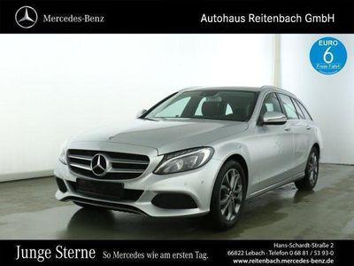 used Mercedes C180 T AVANTGARDE+AHK+LED+9G +NAVI+TOTWINKEL