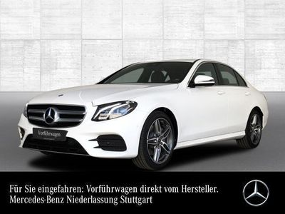 gebraucht Mercedes E220 AMG Line Business 9G-TRONIC Kamera LED