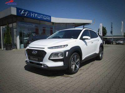 gebraucht Hyundai Kona 1.0 T-GDi Premium + Cam + Klima + Voll-LED +