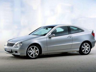 gebraucht Mercedes C230 Kompressor Sportcoupe