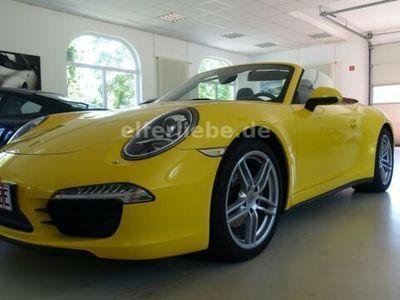 gebraucht Porsche 991  C 4 Cabriolet, Chrono, Sportauspuff