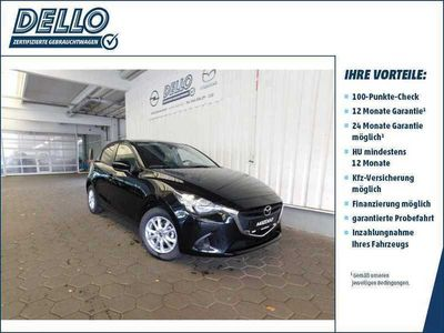 gebraucht Mazda 2 Exclusive-Line *DAB/Bluetooth/Spurhalteas.*