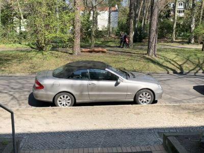 käytetty Mercedes CLK200 K, Bj. 2008, 108T km,