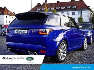 gebraucht Land Rover Range Rover Sport SVR 5.0 EU6d-T Leder LED Navi StandHZG Keyless AD Klimasitze e-Sitze