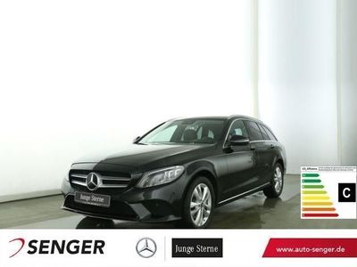 gebraucht Mercedes C300 T Avantgarde+Spur-P.+LED+Standhz+Kamera