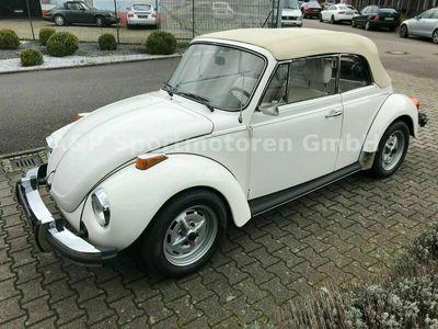 gebraucht VW Käfer Cabrio Triple White, 40 Jahre 1. Hand