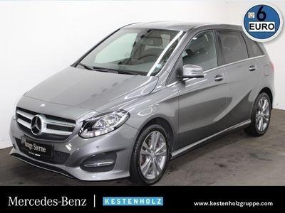 gebraucht Mercedes B220 d Style Kamera Navi PTS 7G-DCT Sitzh Temp