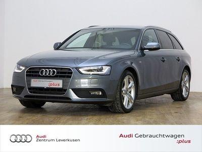 gebraucht Audi A4 Avant 2.0 TDI S Line MULTITR LEDER XENON NAVI